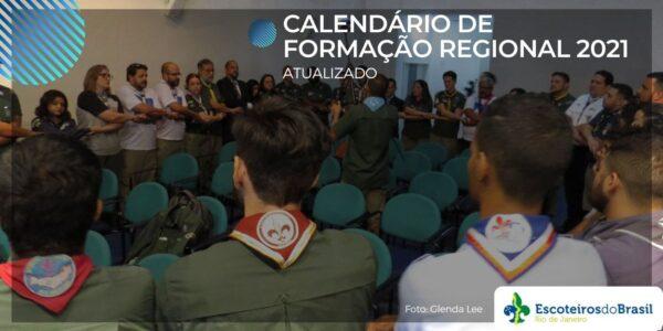 Calendário de Formação Regional 2021