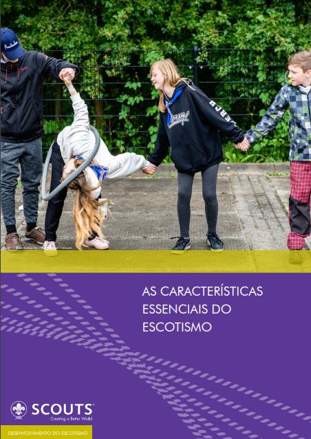 As Características Essenciais do Escotismo | Disponível no PAXTU