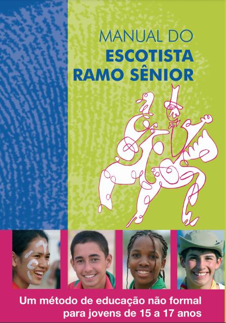 Manual do Escotista – Ramo Sênior | Disponível no PAXTU